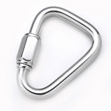Stainless Steel Quick Link Delta Type, Delta Quick Link, Triangle Quick Link