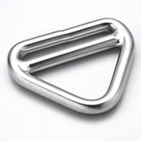 Stainless Steel Triangle Rings with Bar